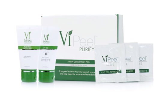 Acne is caused by many factors affecting the skin. When pores in the skin become blocked, bacteria builds up leading to breakouts. It's time for VI PURIFY – your targeted solution for acne prone skin. Specifically formulated for acne prone skin, it clears out dead cells to open pores, kills p.acnes bacteria and soothes inflammation and redness.