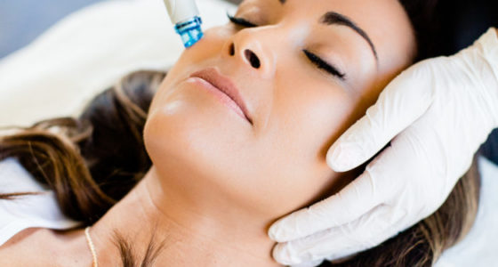 An invigorating treatment that includes all of the essentials of the Signature HydraFacial while addressing your specific skin concern with a Booster of your choice. BRITENOL: to minimize the appearance of dark spots DERMABUILDER: to reduce the appearance of fine lines and wrinkles CLARIFYING: extended extractions and Blue LED light therapy. This treatment concludes with Red or Blue LED Light Therapy to further reduce the visible signs of aging. (45 min.)